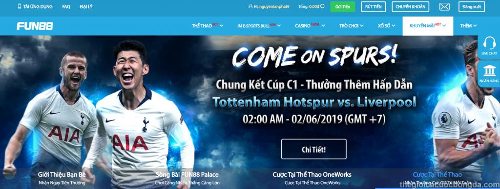 trang cá độ bóng đá uy tín nhất Việt Nam