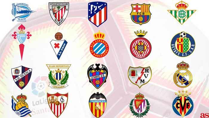 La Liga thu hút sư tham gia của rất nhiều CLB